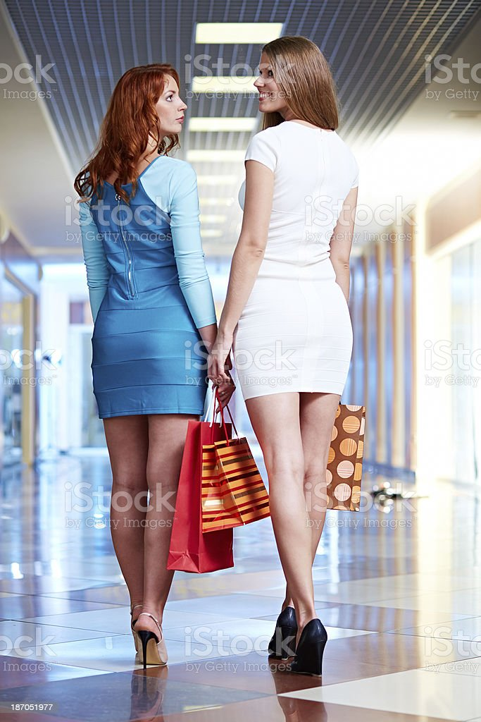 Most beautiful customers royalty-free stock photo