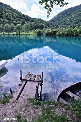 European Alps, Julian Alps, Lake, Most na Soči, Mountain