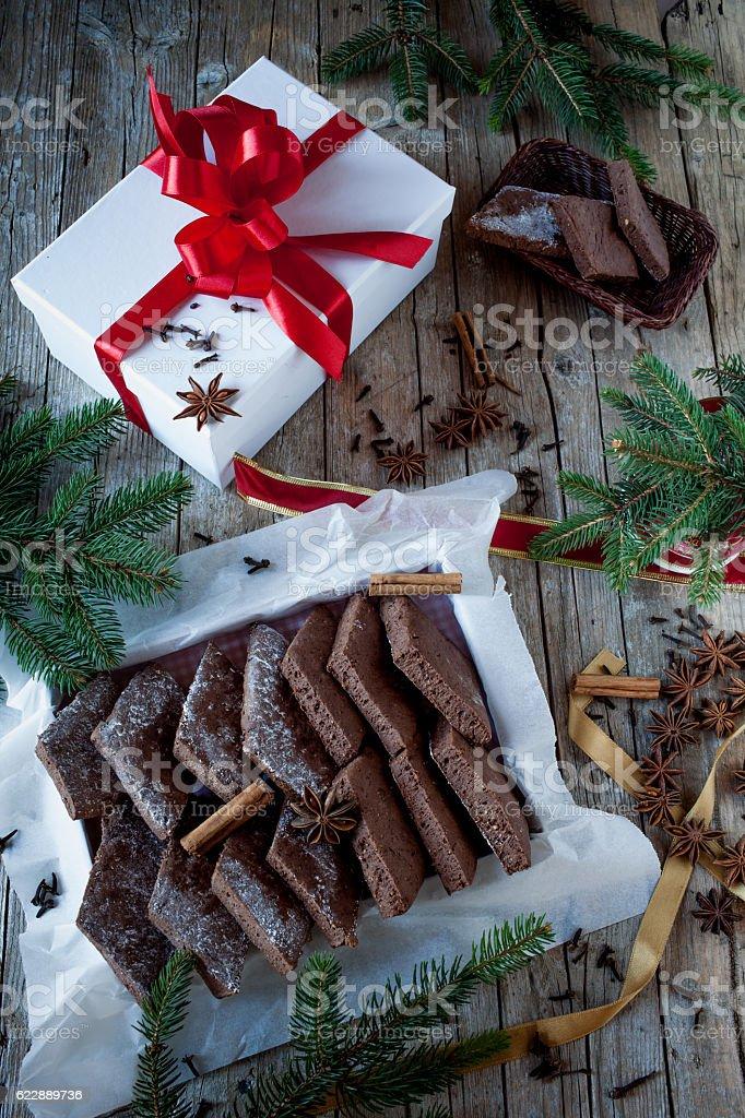 Mostaccioli Neapolitan Biscuits stock photo