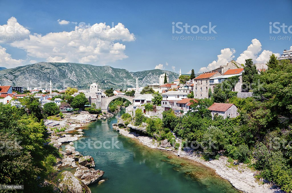 Mostar, Bosnia and Hercegovina stock photo