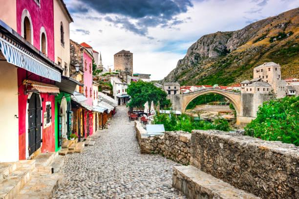 mostar, bosnië en herzegovina - neva stockfoto's en -beelden