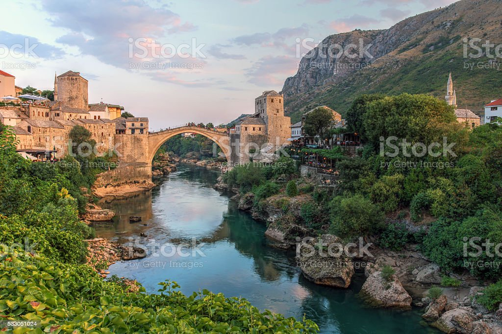 Mostar, Bosnia Herzegovina stock photo