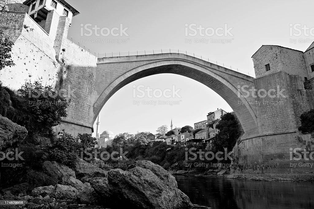 Mostar bridge royalty-free stock photo