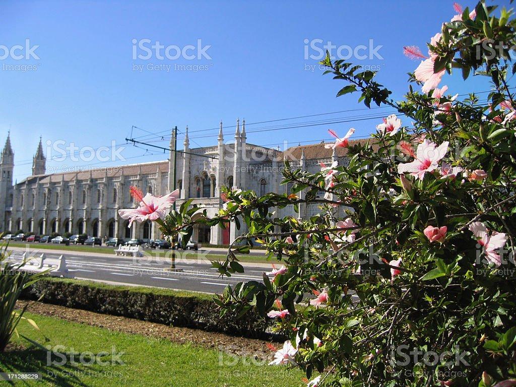 Mosteiro dos Jeronimos (Lisbon - Portugal) royalty-free stock photo