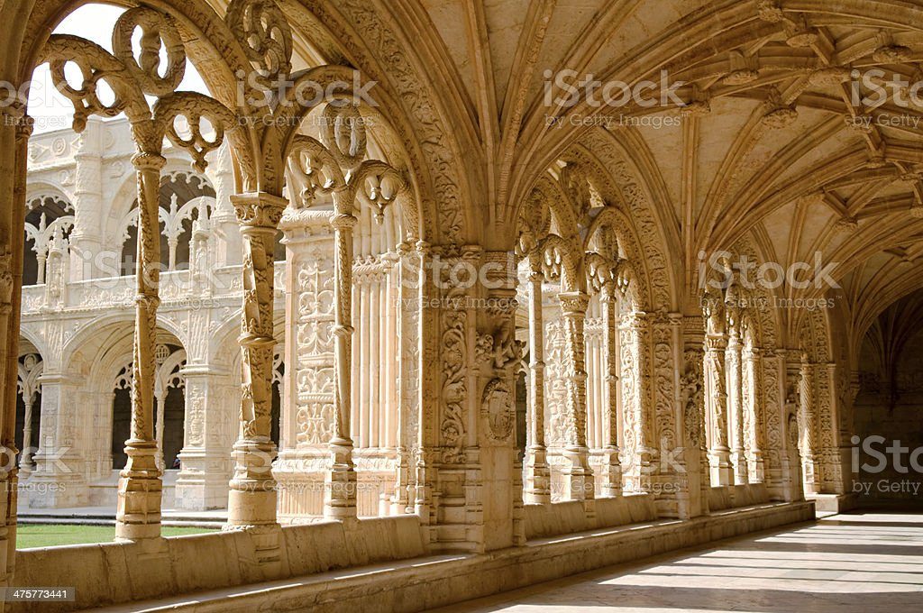 Mosteiro Dos Jeronimos stock photo