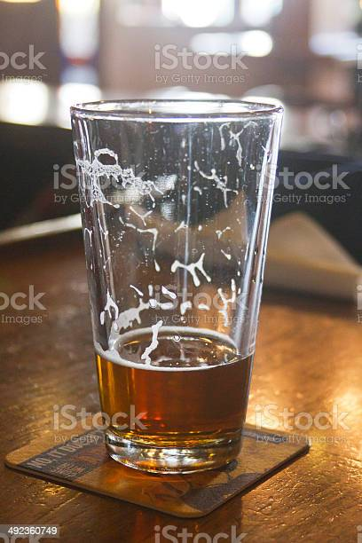 Mostly drunk glass of beer on the bar picture id492360749?b=1&k=6&m=492360749&s=612x612&h=gbj3dsa1jbmymfvwyiy3alwn9ue1jupq3j alxtycm0=