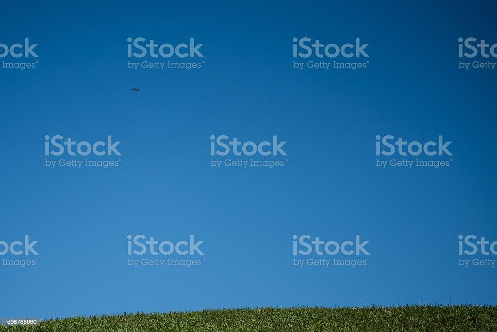 Mostly Sunny stock photo