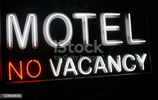 Motel no vacancy neon sign more neon sign in my portfolio