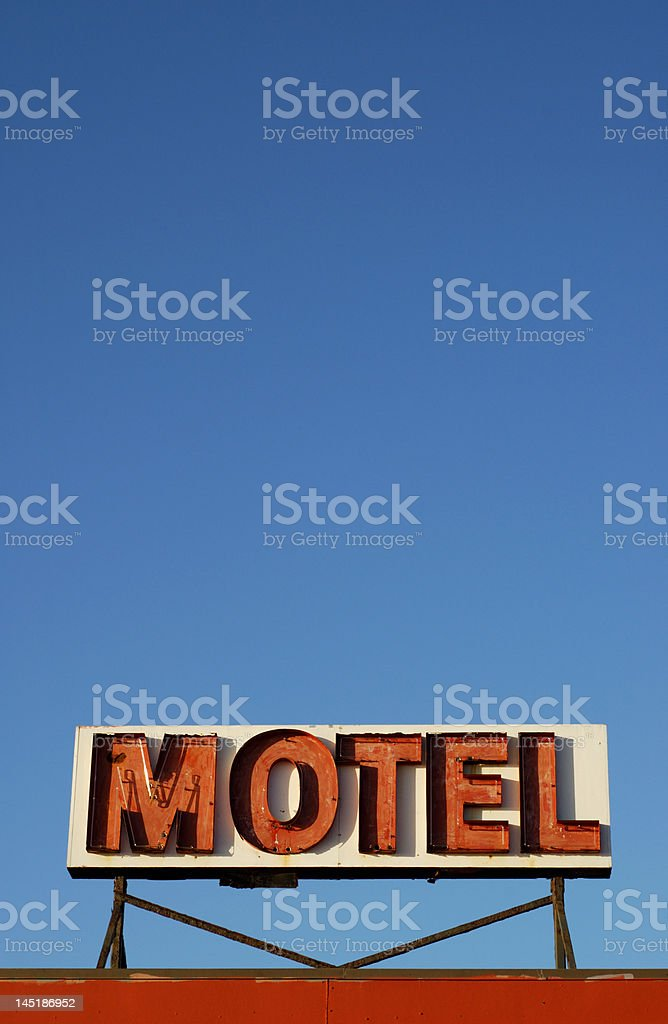 Motel royalty-free stock photo