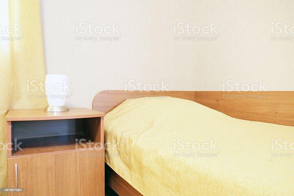 motel room stock photo