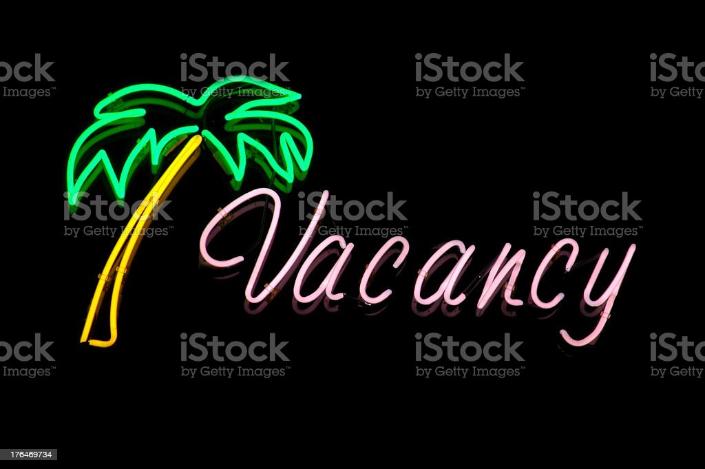 Motel Vacancy royalty-free stock photo