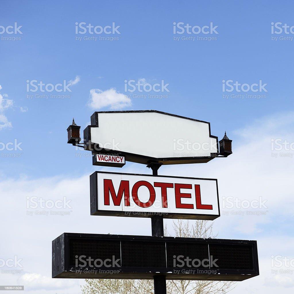 Motel,Arizona royalty-free stock photo
