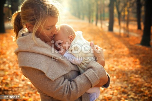 istock Mother and a baby 167155447