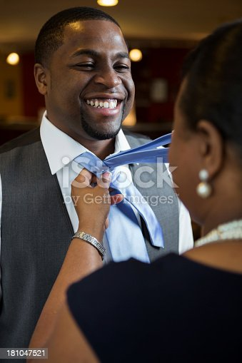 istock Mother and Adult son 181047521