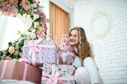 Mother And Baby Stock Photo & More Pictures of Adult