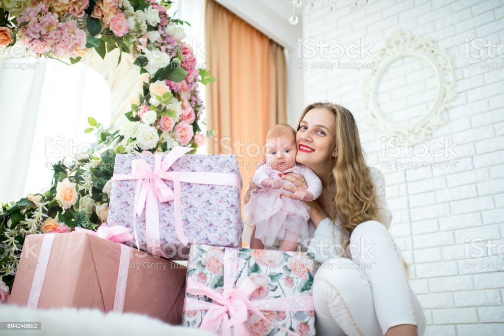 mother and baby royalty-free stock photo