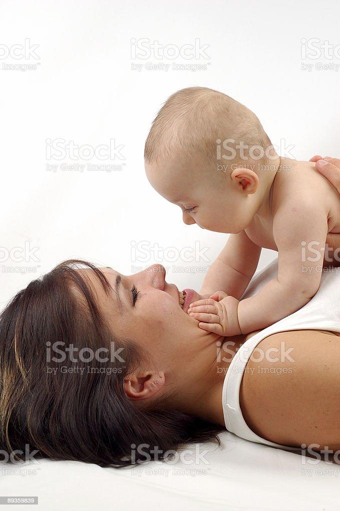 Madre e figlio#15 foto stock royalty-free