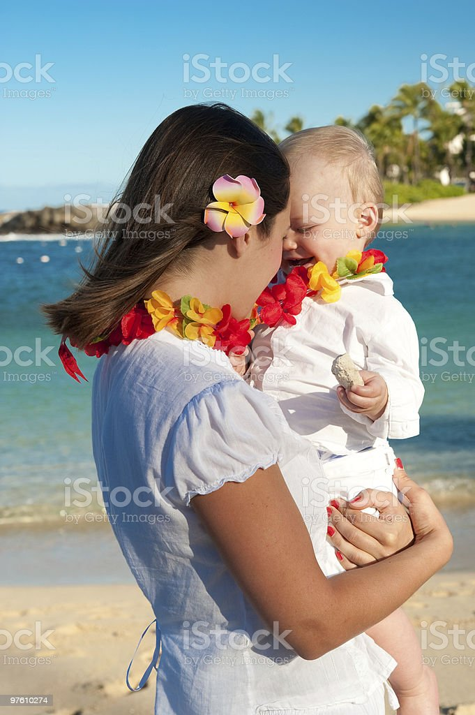 Mother and boy royaltyfri bildbanksbilder