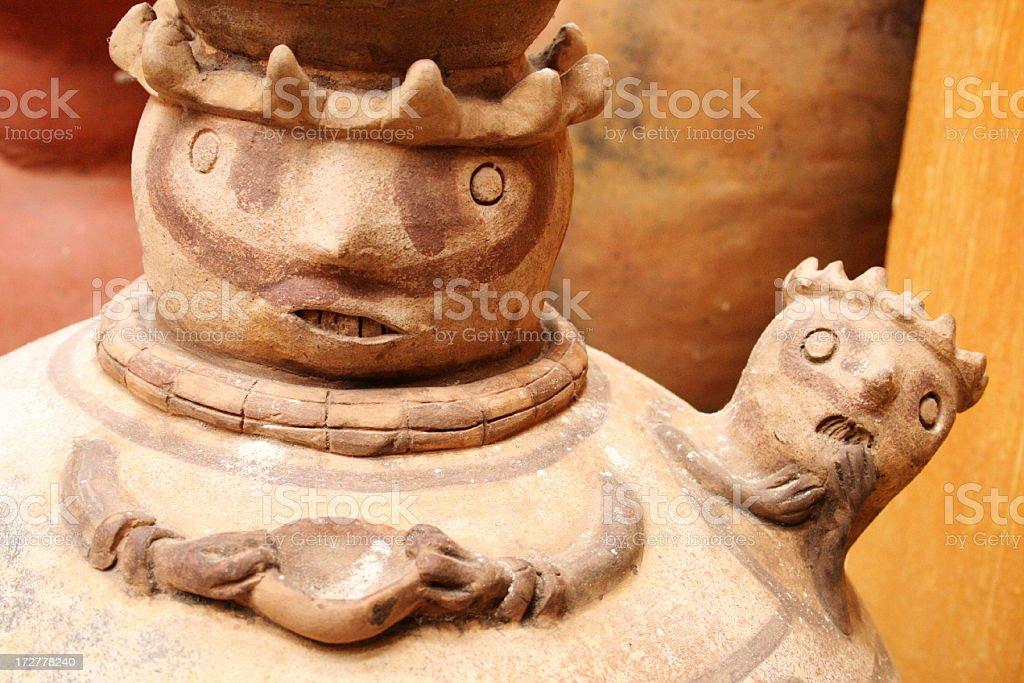Mother and child, Ecuador stock photo