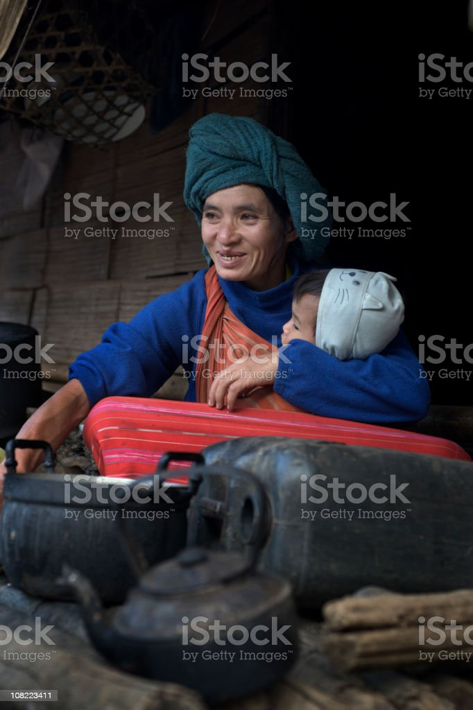 Mother and Child. royalty-free stock photo