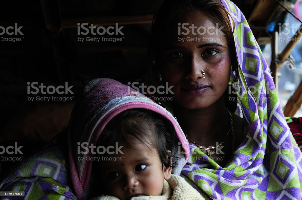 Mother and child royalty-free stock photo