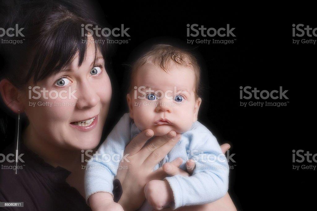 Matka i dziecko zbiór zdjęć royalty-free