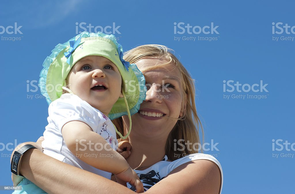 Madre e bambino foto stock royalty-free