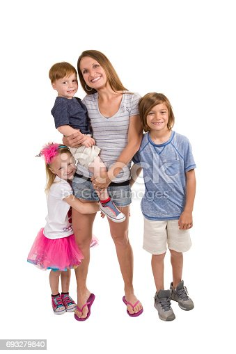 istock Mother And Children 693279840