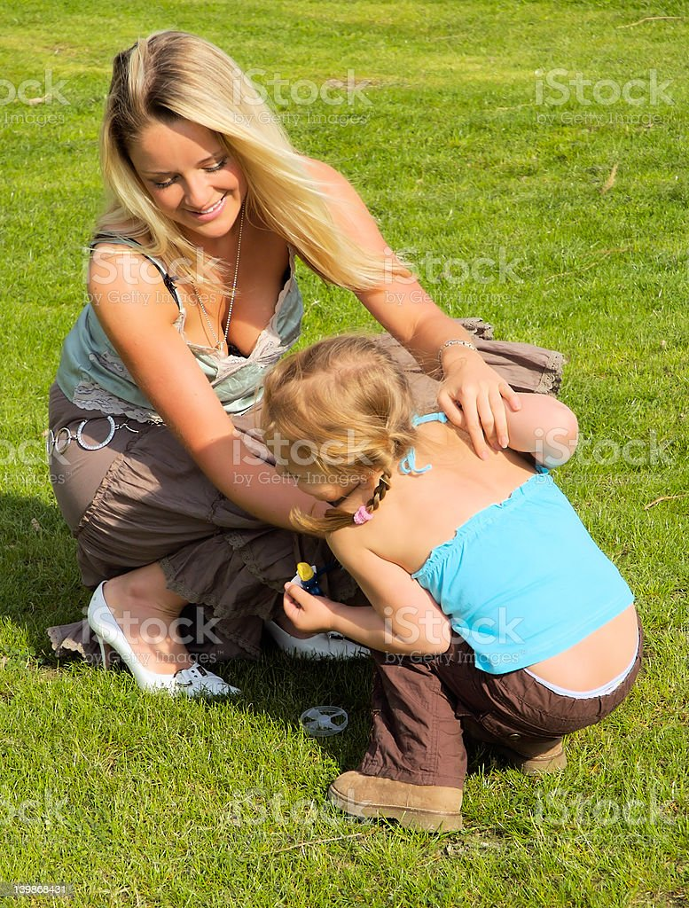 Mother and Daughter 5 royalty-free stock photo