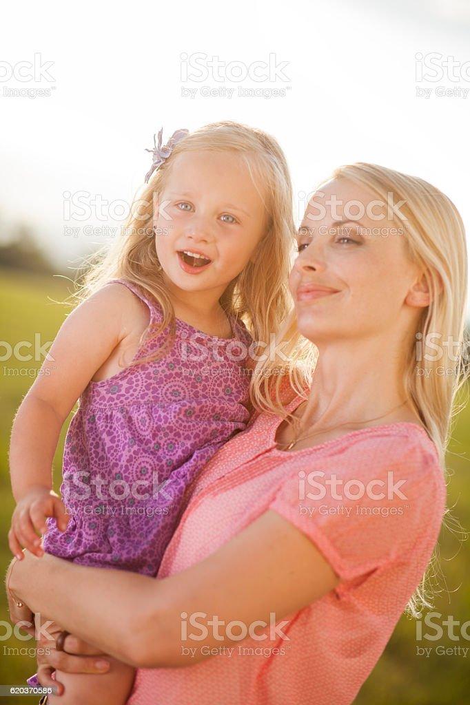 Matka i córka po czasu razem zbiór zdjęć royalty-free