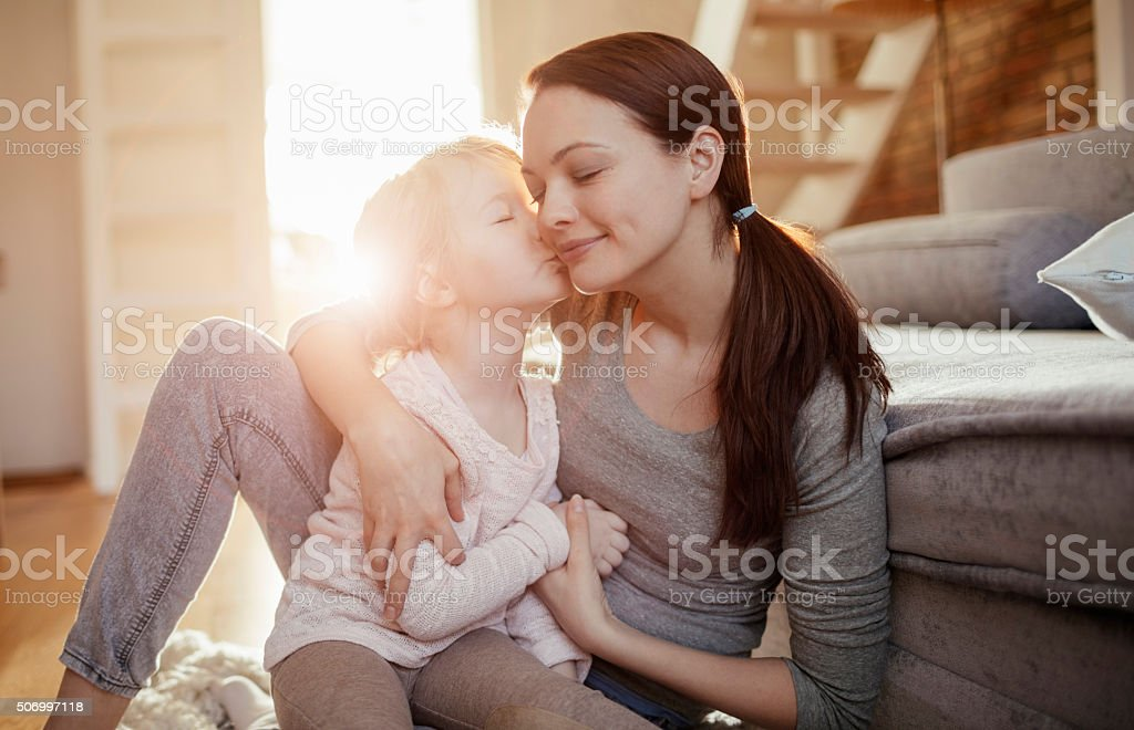Mother and daughter hugging Stock Photo - 1678403