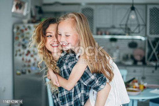 641288086istockphoto Mother and daughter - love and happiness 1167429614