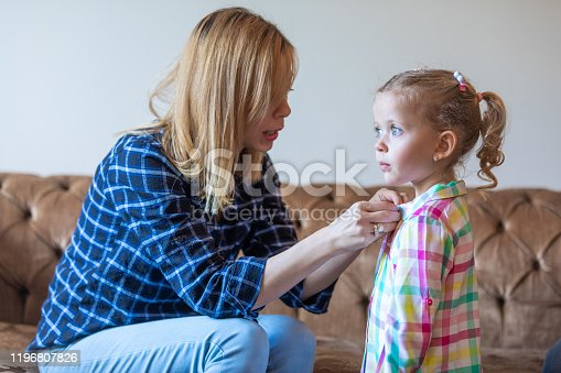1070262182 istock photo Mother and daughter. 1196807826
