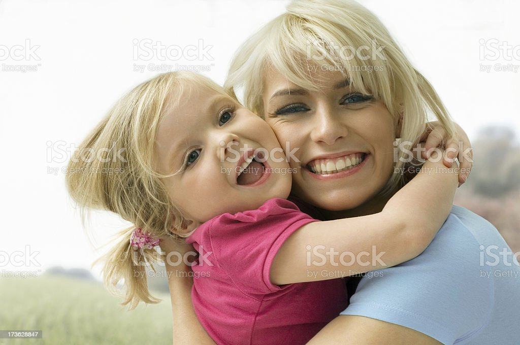 Mutter und Tochter royalty-free stock photo