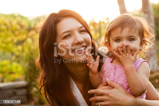 istock Mother and Daughter 183032149
