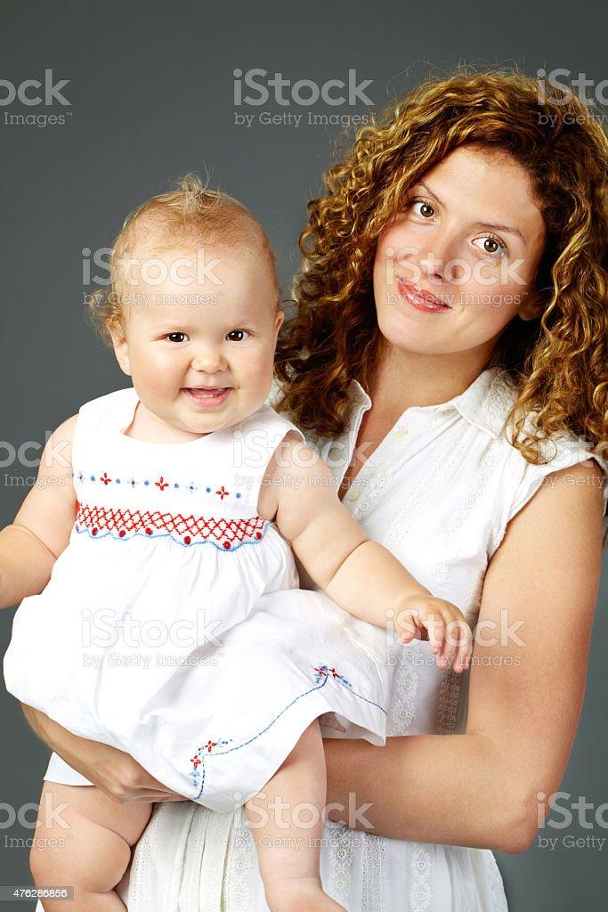 Mutter und Tochter – Foto