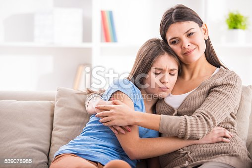 istock Mother and daughter 539078985