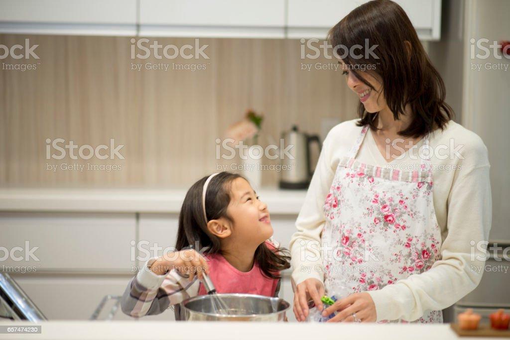 Mère et fille  - Photo