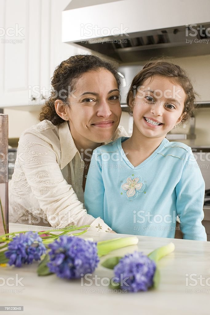Mother and daughter 免版稅 stock photo