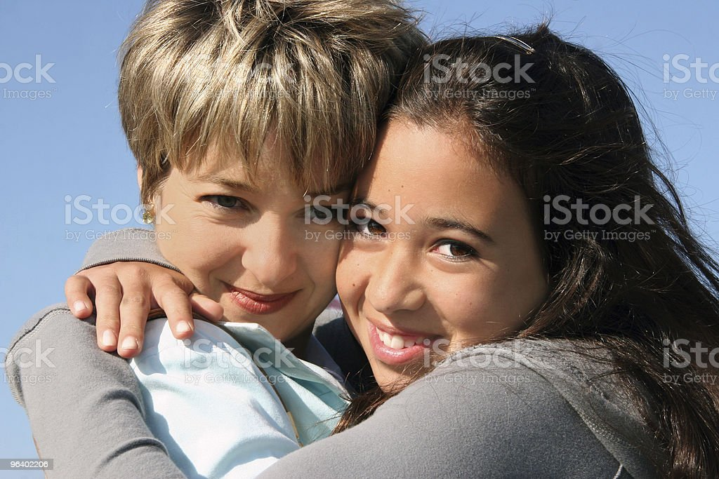 Mother and daughter - Royalty-free Adolescence Stock Photo