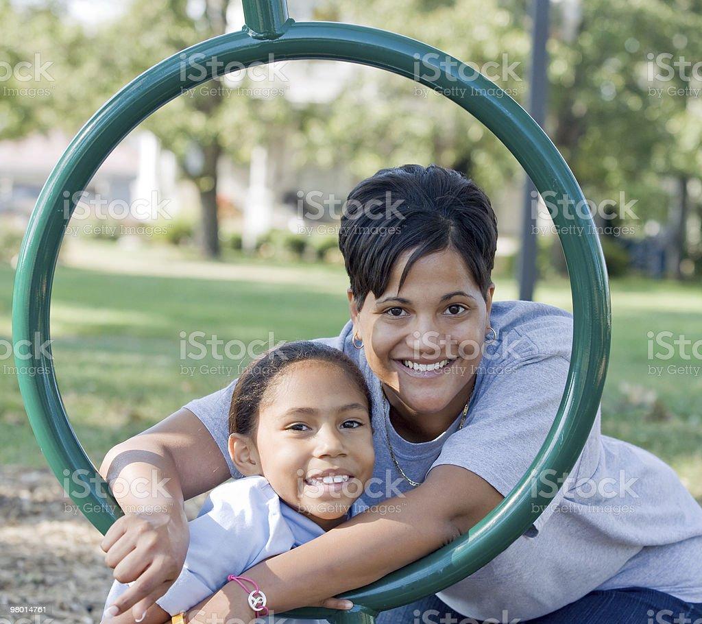 Madre e figlia foto stock royalty-free