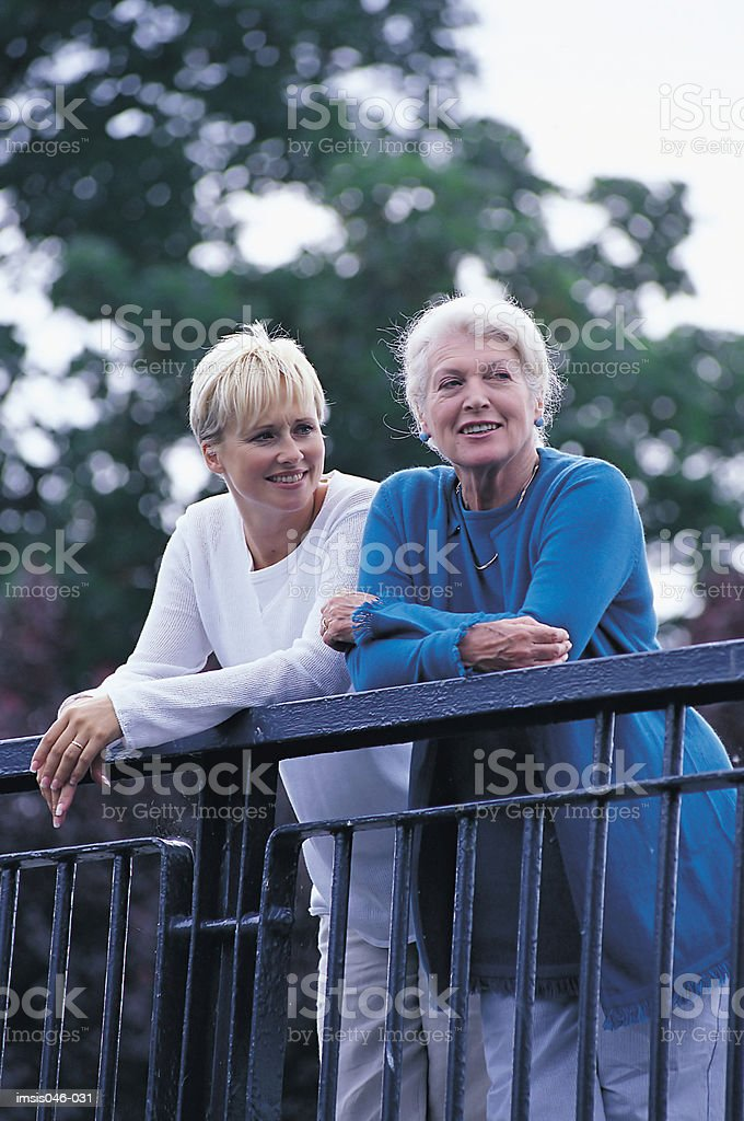 Mother and daughter royalty free stockfoto