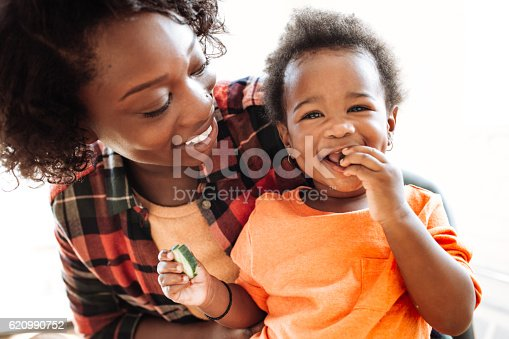 istock Mother and daughter portrait 620990752