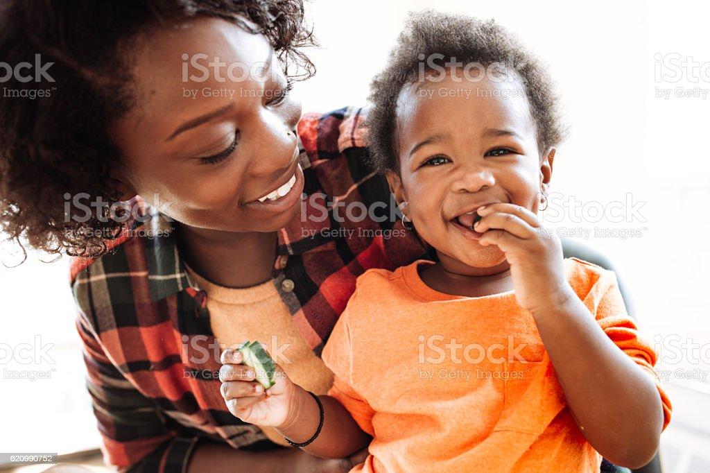 portrait de mère et fille  - Photo