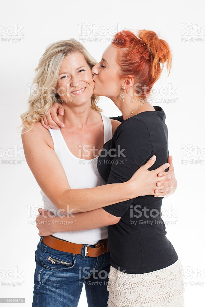 mother and daughter relationships. family. stock photo