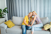 istock Mother and daughter spending quality time together at home. 1266686531
