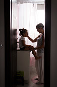 istock mother and daughter talking 1055698260