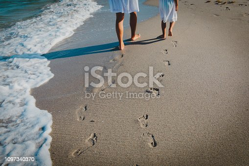 Shot of an unrecognizabe couple at the beach
