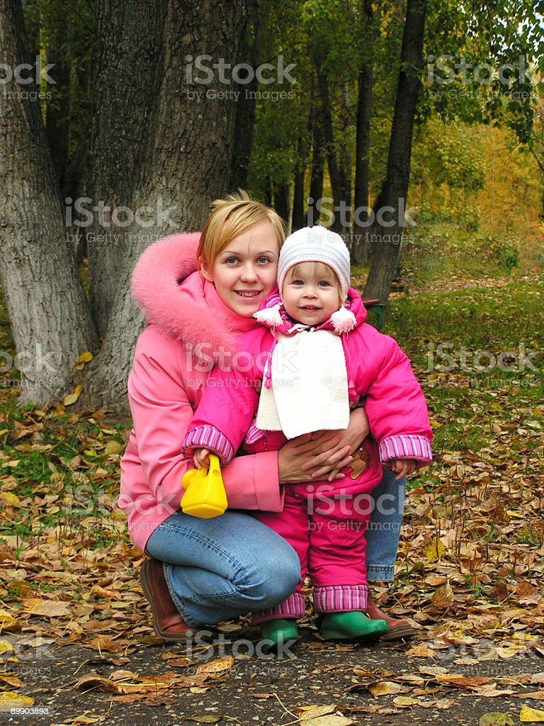 Mother and daugther royalty-free stock photo