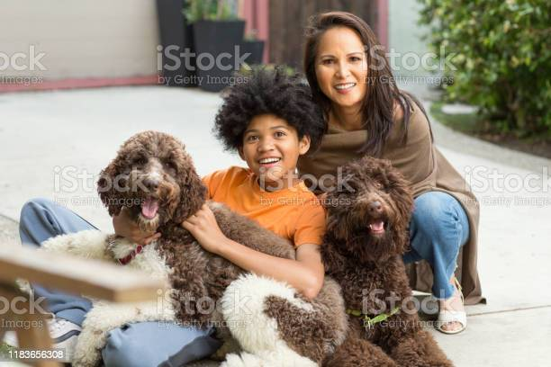 Mother and her son laughing and playing with their dog picture id1183656308?b=1&k=6&m=1183656308&s=612x612&h=bjwnjj1g dptrtxhxj w5qaumdlcrgtxewrtmcbjwao=